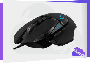 Logitech G502 HERO Driver, Software, Manual, Download for Windows, Mac